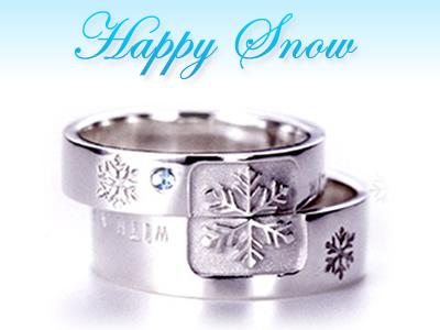 魔法のペアリング「雪の結晶」