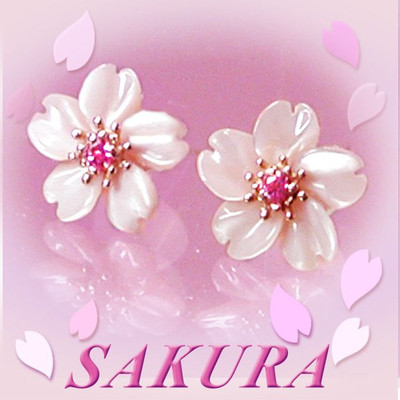 桜」2wayピアス