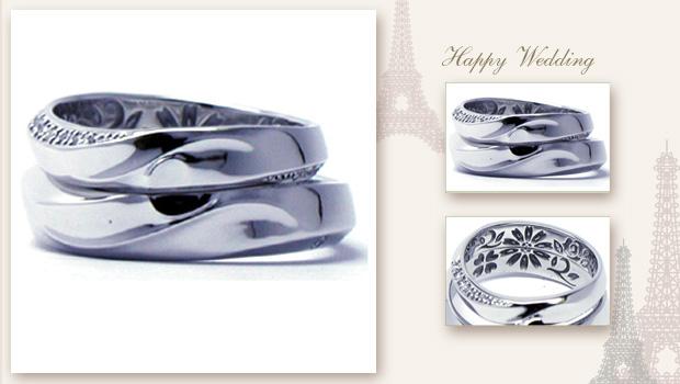 14114w395 Diamond Marriagering 大阪