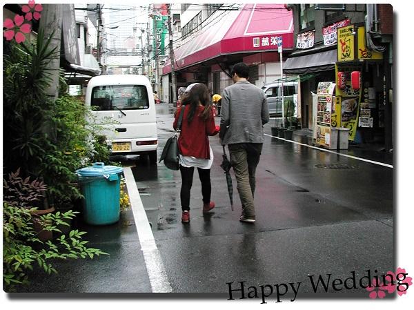 20140608w871-02 Order Wedding ring Cherry tree Initial