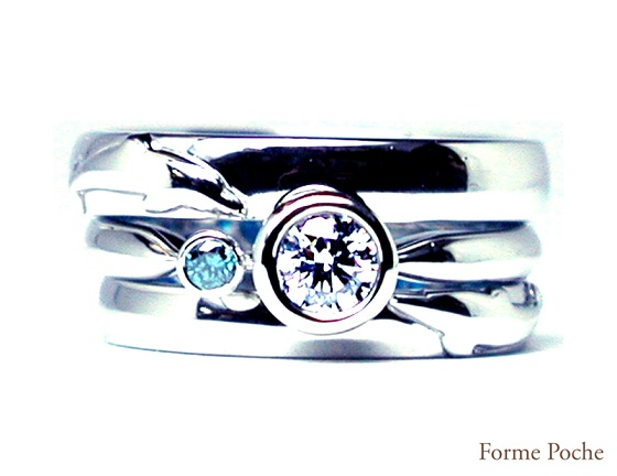 20140623w884-03 Made to order Wedding ring Dolphin
