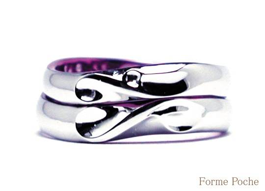 20140623w886-R01 Made to Order Wedding ring Initial