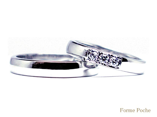 20140701w895-R01 Made to Order Wedding ring Penguin Daimond