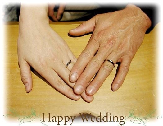 オーダメイド 結婚指輪 hi140726-01