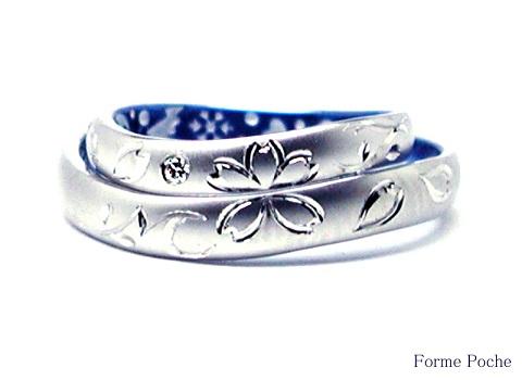 オーダーメイド 結婚指輪 hi140927-02