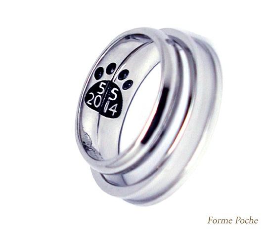 記念日 オーダーメイドの結婚指輪hi141029-R3