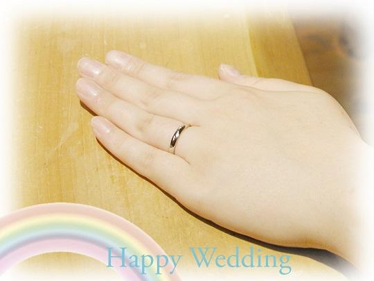 結婚指輪 オーダーメイド hi141017-01