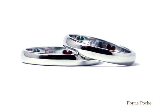 シンプルな結婚指輪 オーダーメイド hi141006-R01