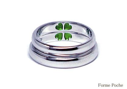 クローバーの結婚指輪 hi141006-R03