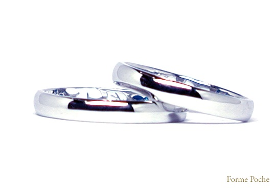 シンプルなオーダーメイド結婚指輪 hi141031-R01