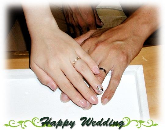 ひまわり オーダーメイド結婚指輪 hi141108-01w867
