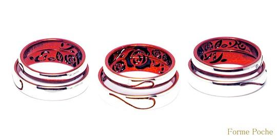 バラ 結婚指輪 141129-897R02