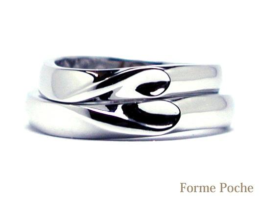 ハートのオーダーメイド結婚指輪 150122w904-R01