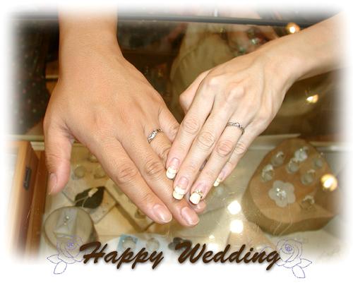 オーダーメイド 結婚指輪 150215w932-01