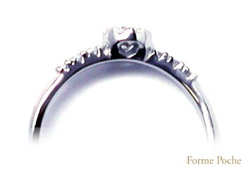 オーダーメイド 婚約指輪 側面透かし 150226w933-02