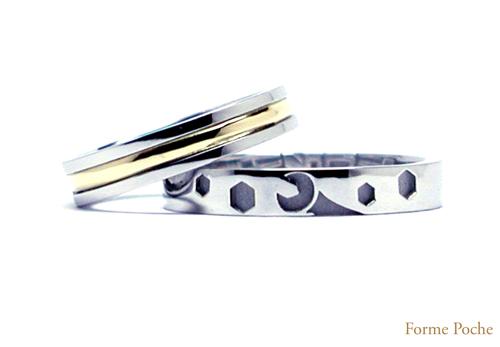 コンビ  オーダーメイド結婚指輪hi150213w921-R01