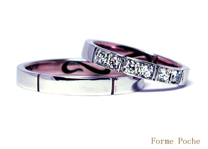 オーダーメイド結婚指輪 ダイヤモンド 20150328w937-R01