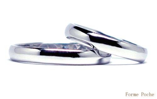 オーダーメイド 結婚指輪 シンプル 20150327w935-R01