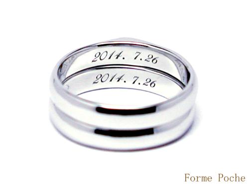 オーダーメイド結婚指輪 刻印 150309w939-R01