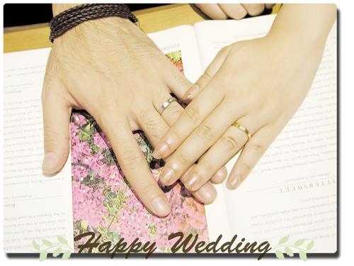 オーダーメイド結婚指輪 お引取り時 hi150413w931-1