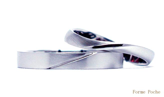 オーダーメイド 結婚指輪 シンプル 150404w957-R2