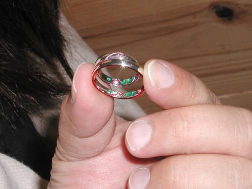 オーダーメイド結婚指輪確認時 hi150507w956-02