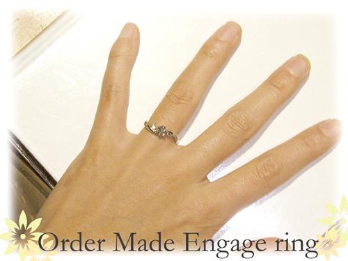 ネコの婚約指輪 オーダーメイド  hi150507w960-01