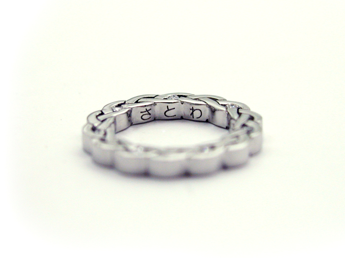 Made to Order Baby ring Platinum Diamond hi150524-02