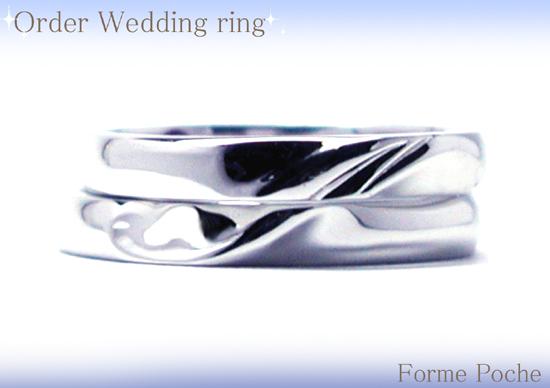 hi150725w978 オーダー結婚指輪 イニシャル