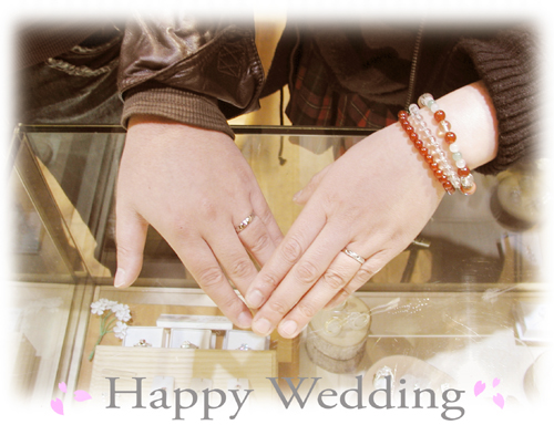 Made to Order Wedding ring 大阪 hi150716w976-1