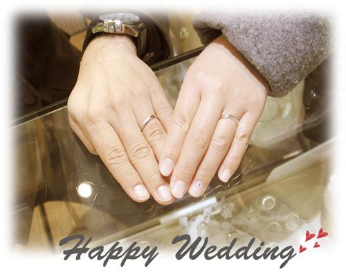 オーダーメイド結婚指輪 大阪 hi150629w962-1
