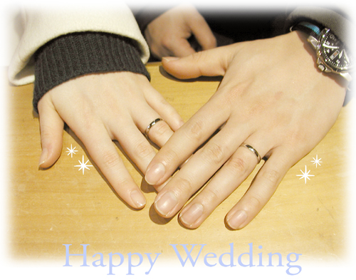 Made to order Weddingu ring 大阪hi150705w977-1