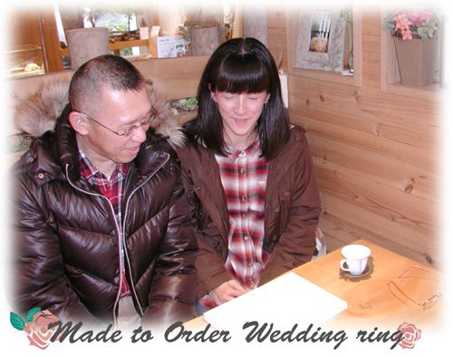 オーダーメイド結婚指輪 hi150802w993-2