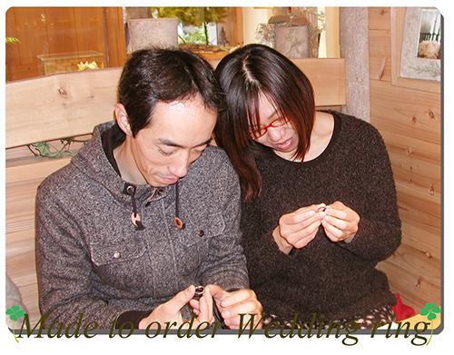 151004w971 Made to order wedding ring 大阪