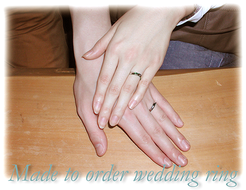 hi151019ew998 Made to order wedding ring 大阪フォルムポッシュ