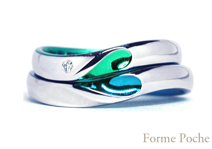 hi151019ew998 Made to order wedding ring ハート