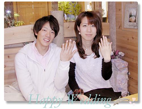 オーダーメイド 結婚指輪 hi151018w991