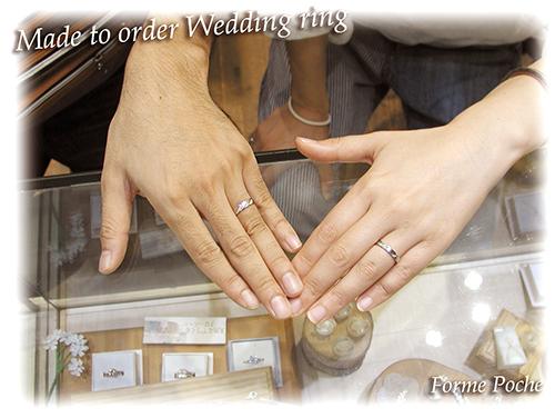 hi151101w1003-01 オーダーメイド結婚指輪 インディアンモチーフ