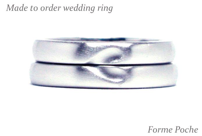 hi151128w1006R1 オーダーメイド結婚指輪シンプルハート