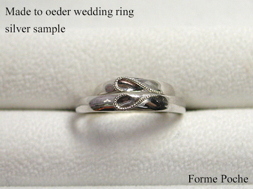 Made to order wedding ring heart hi151106w995SR2