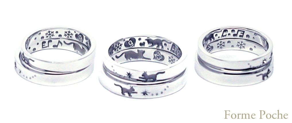 Made to order wedding ring osaka cat  star hi151129w1007R2