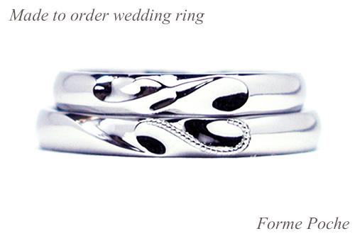 hi151107w1008-1 オーダーメイド結婚指輪イニシャルハート