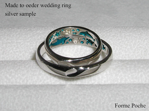 Made to order wedding ring Dolphin hi151106w995SR1