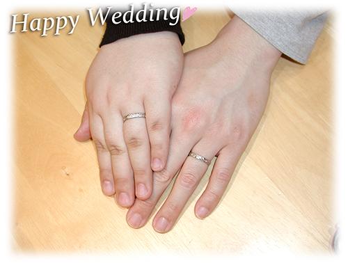 hi151127w984 オーダーメイド結婚指輪 大阪 兵庫