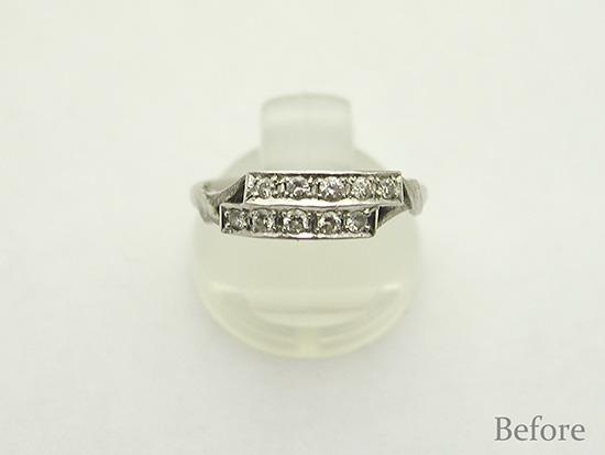 hi151127TW6R3 指輪リフォーム大阪オーダーメイド結婚指輪