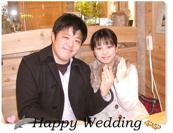 オーダーメイド結婚指輪 大阪 hi151205w995-1