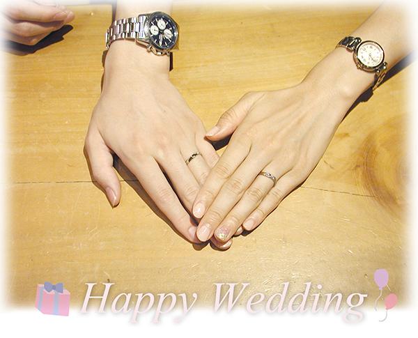 hi151212w1005-1 オーダーメイドの結婚指輪完成時 京都 大阪
