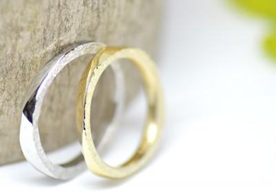 natura岩自然の結婚指輪