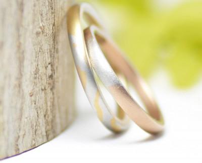 natura土と風を感じる結婚指輪