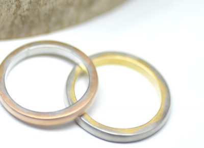 il sole八角形の太陽の光の結婚指輪
